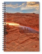 Mesa Arch Spiral Notebook