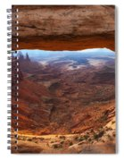Mesa Sunrise Window Spiral Notebook