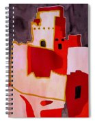 Mesa Verde Original Painting Sold Spiral Notebook