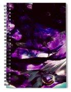 Mesmerize Purple Spiral Notebook