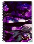 Mesmerize Purple II Spiral Notebook