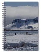 Mesmerizing Antarctica... Spiral Notebook