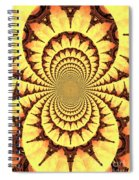 Mesmerizing Eiffel Tower Abstract Spiral Notebook