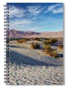 Mesquite Flat Dunes Spiral Notebook