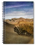 Mesquite Flat Sand Dunes Death Valley Img 0080 Spiral Notebook