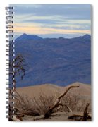 Mesquite Flat Sand Dunes Stovepipe Wells Death Valley Spiral Notebook