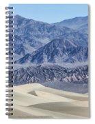 Mesquite Sand Dunes Spiral Notebook