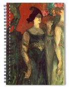 Messalina Spiral Notebook