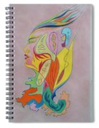 Messenger From The Cosmos Spiral Notebook