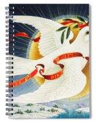 Messenger Of Peace Spiral Notebook