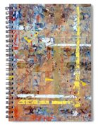 Messy Background Spiral Notebook