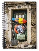 Messy Door Spiral Notebook