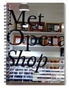 Met Opera Shop Spiral Notebook