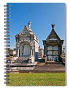 Metairie Cemetery 4 Spiral Notebook