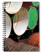 Metal Barrels 1 Spiral Notebook