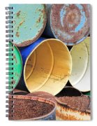 Metal Barrels 2 Spiral Notebook