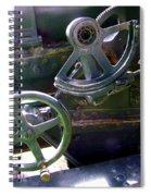 Antique Canon Mechanisms Spiral Notebook