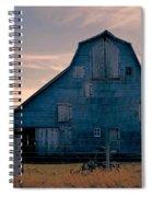 Metal Faced Barn Spiral Notebook