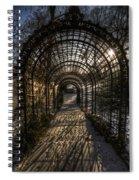 Metal Garden Spiral Notebook