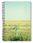 Metal Gate Spiral Notebook