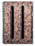 Metal Grill Spiral Notebook