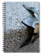 Metal Leaf Spiral Notebook