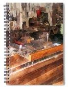 Metal Machine Shop Spiral Notebook