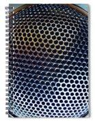 Metal Mesh Spiral Notebook