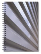 Metal Perspective Texture Spiral Notebook