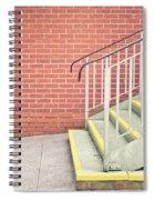 Metal Stairs Spiral Notebook