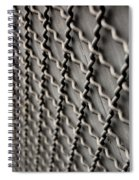 Metal Texture Forms Spiral Notebook