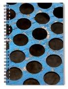 Metal Texture Round Spiral Notebook