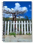 Metal Art Tree Bisbee Spiral Notebook