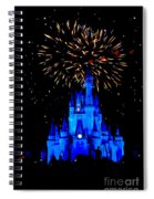 Metallic Castle Spiral Notebook