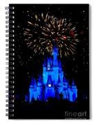Metallic Castle Spiral Notebook
