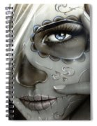 Metallic Decay Spiral Notebook