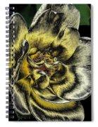 Metallic Rose Spiral Notebook