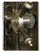 Metals Bank Door Spiral Notebook
