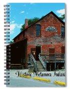 Metamora Grist Mill Spiral Notebook