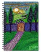 Metaphor Door By Jrr Spiral Notebook