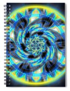 Metatron Swirl Spiral Notebook