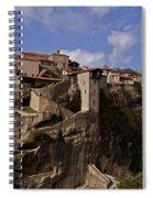 Meteora Monastary   #9793 Spiral Notebook