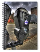 Meter Demons Spiral Notebook
