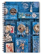 Meter Graffiti New Orleans Style Spiral Notebook