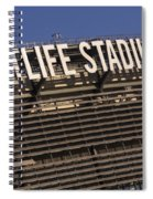 Metlife Stadium Spiral Notebook