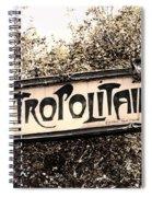 Metropolitain Spiral Notebook
