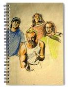 Mettalica Spiral Notebook