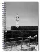 Mevagissey Lighthouse Spiral Notebook
