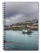 Mevagissy Cornwall Spiral Notebook