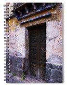 Mexican Door 34 Spiral Notebook